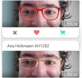 Como escolher óculos pela internet?